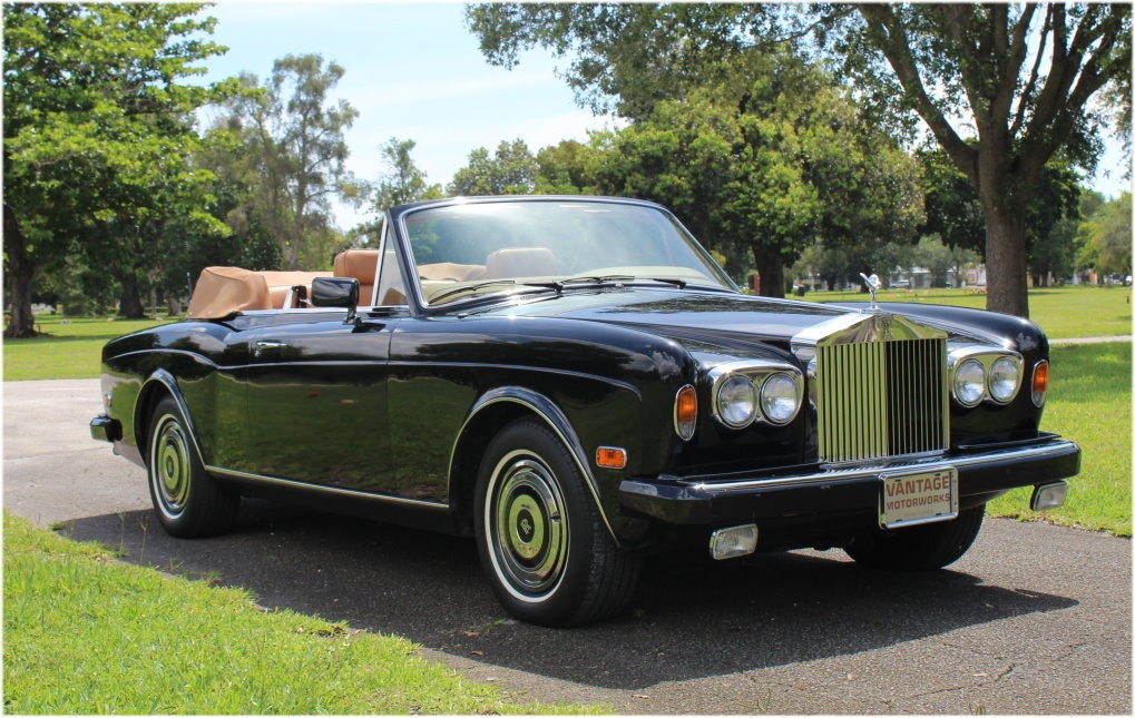 Used 1985 Rolls Royce Corniche For Sale Special Pricing Vantage Motorworks Inc Stock Fcx10218