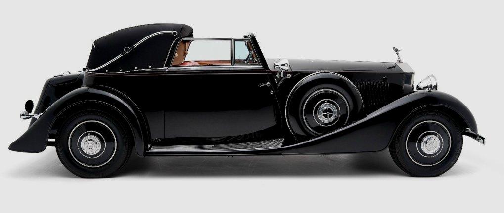 1935 Rolls-Royce PII Continental Binder Cabriolet
