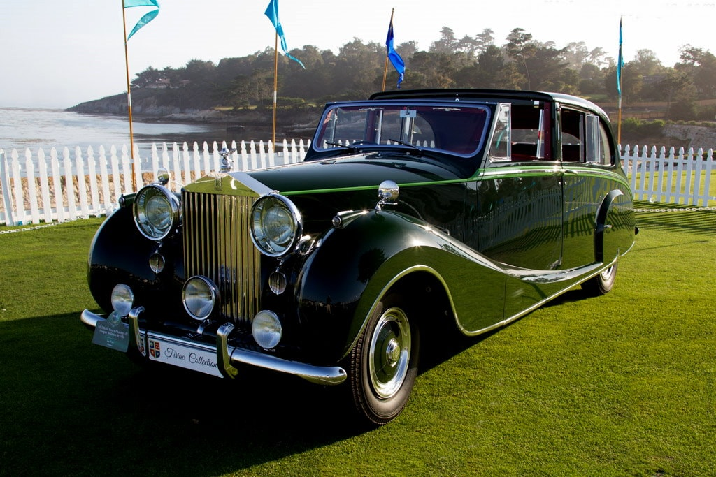 1952 Rolls-Royce Phantom IV Sedanca de Ville by Hooper