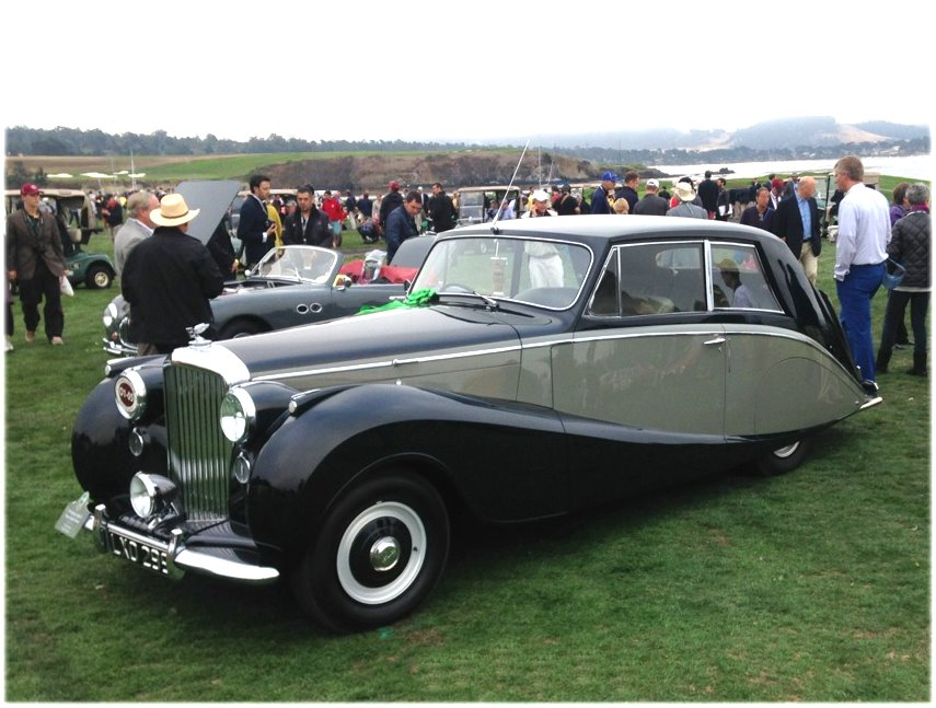 1950 BENTLEY MARK VI HOOPER EMPRESS