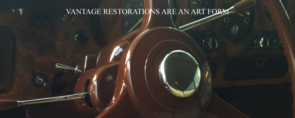Vantage Restorations Are An Art Form