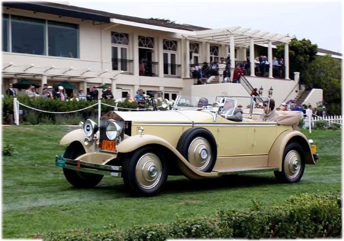 1929 Phantom Springfield Brewster Ascott Tourer