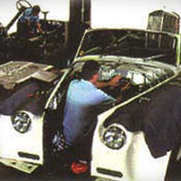 <p>Jorge Mateu, our Service Director with over 25 years of classic car restoration experience, oversees the daily operations of the Mechanical, Wood, Upholstery and Body shops.</p>